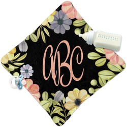 Boho Floral Security Blanket (Personalized)