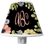 Boho Floral Shade Night Light (Personalized)