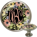 Boho Floral Cabinet Knobs (Personalized)