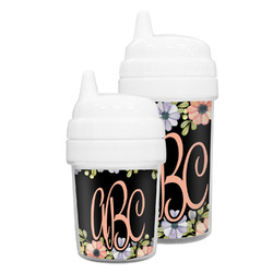 Boho Floral Sippy Cup (Personalized)