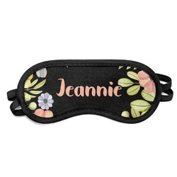 Boho Floral  Sleeping Eye Mask (Personalized)
