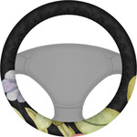 Boho Floral Steering Wheel Cover (Personalized)