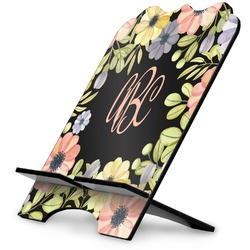 Boho Floral  Stylized Tablet Stand (Personalized)