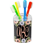 Boho Floral Toothbrush Holder (Personalized)