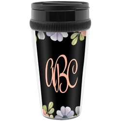 Boho Floral  Travel Mug (Personalized)