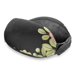 Boho Floral Travel Neck Pillow (Personalized)