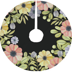 Boho Floral Tree Skirt (Personalized)