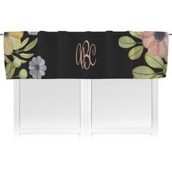 Boho Floral Valance (Personalized)