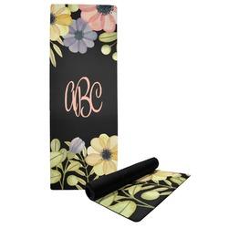 Boho Floral Yoga Mat (Personalized)