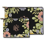 Boho Floral Zipper Pouch (Personalized)