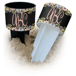 Boho Floral Beach Spiker Drink Holder (Personalized)