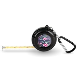 Chinoiserie Pocket Tape Measure - 6 Ft w/ Carabiner Clip (Personalized)