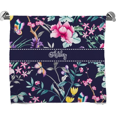 Chinoiserie Bath Towel (Personalized)