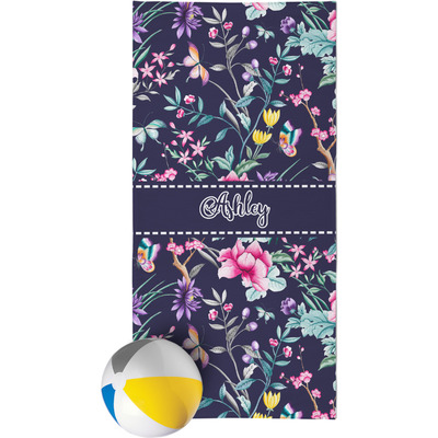 Chinoiserie Beach Towel (Personalized)