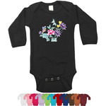 Chinoiserie Long Sleeves Bodysuit - 12 Colors (Personalized)