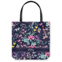 Chinoiserie Canvas Tote Bag (Personalized)