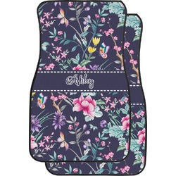 Chinoiserie Car Floor Mats (Front Seat) (Personalized)