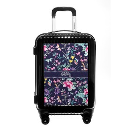 Chinoiserie Carry On Hard Shell Suitcase (Personalized)