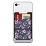 Chinoiserie 2-in-1 Cell Phone Credit Card Holder & Screen Cleaner (Personalized)