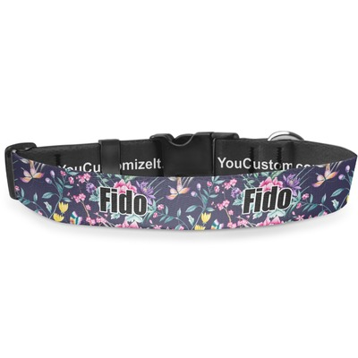 Chinoiserie Deluxe Dog Collar (Personalized)