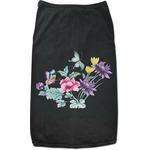 Chinoiserie Black Pet Shirt (Personalized)