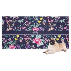 Chinoiserie Dog Towel (Personalized)