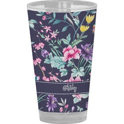 Chinoiserie Drinking / Pint Glass (Personalized)