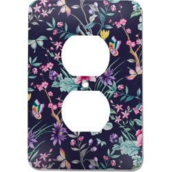 Chinoiserie Electric Outlet Plate (Personalized)