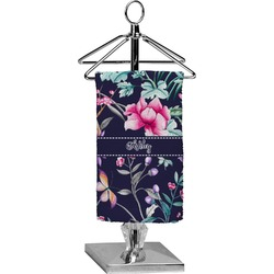 Chinoiserie Finger Tip Towel - Full Print (Personalized)