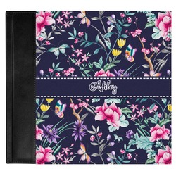 Chinoiserie Genuine Leather Baby Memory Book (Personalized)