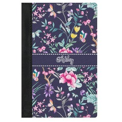 Chinoiserie Genuine Leather Passport Cover (Personalized)