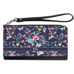 Chinoiserie Genuine Leather Smartphone Wrist Wallet (Personalized)