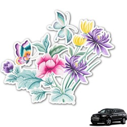 Chinoiserie Graphic Car Decal (Personalized)