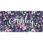 Chinoiserie Front License Plate (Personalized)