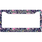 Chinoiserie License Plate Frame (Personalized)