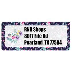 Chinoiserie Return Address Labels (Personalized)