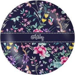 Chinoiserie Melamine Plate (Personalized)