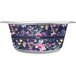 Chinoiserie Stainless Steel Dog Bowl (Personalized)