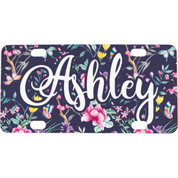 Chinoiserie Mini / Bicycle License Plate (Personalized)