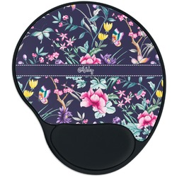 Chinoiserie Mouse Pad with Wrist Support