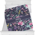 Chinoiserie Minky Blanket (Personalized)