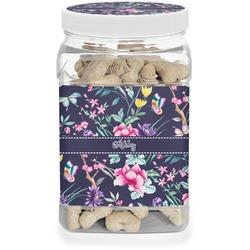 Chinoiserie Pet Treat Jar (Personalized)