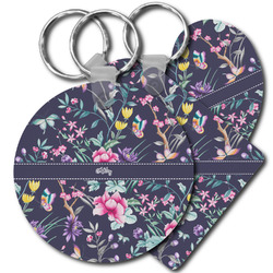 Chinoiserie Plastic Keychains (Personalized)