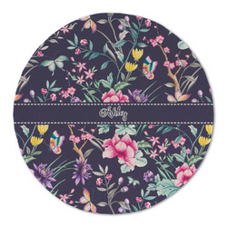 Chinoiserie Round Linen Placemat (Personalized)