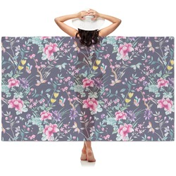 Chinoiserie Sheer Sarong (Personalized)