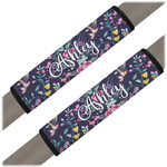 Chinoiserie Seat Belt Covers (Set of 2) (Personalized)