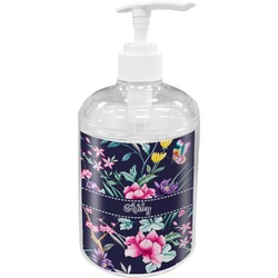 Chinoiserie Soap / Lotion Dispenser (Personalized)