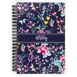 Chinoiserie Spiral Bound Notebook (Personalized)