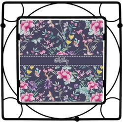Chinoiserie Square Trivet (Personalized)