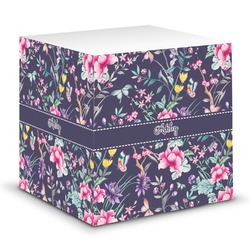 Chinoiserie Sticky Note Cube (Personalized)